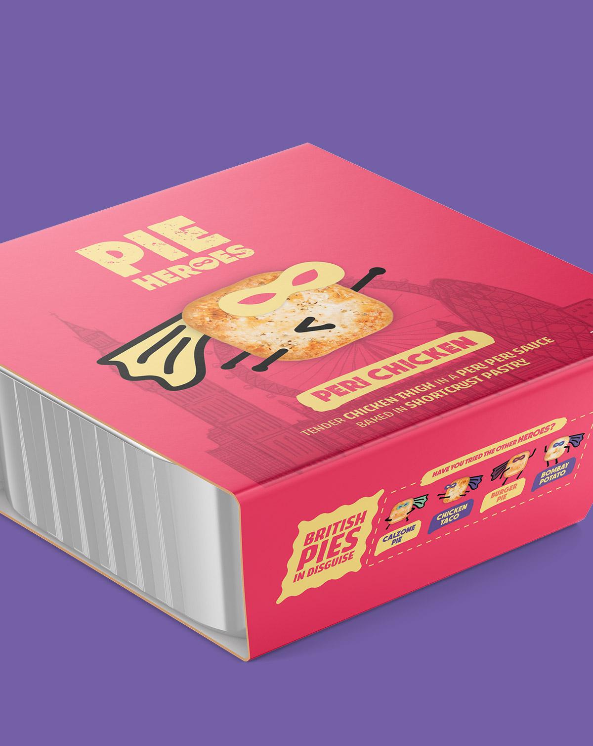 Pie Hero Packaging