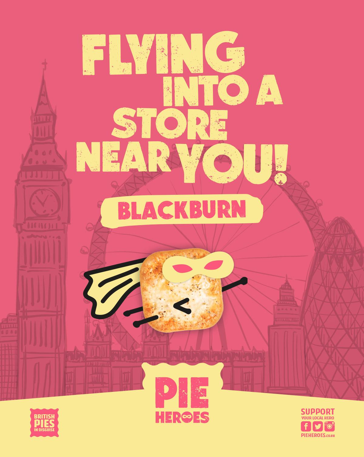 Pie Hero Poster