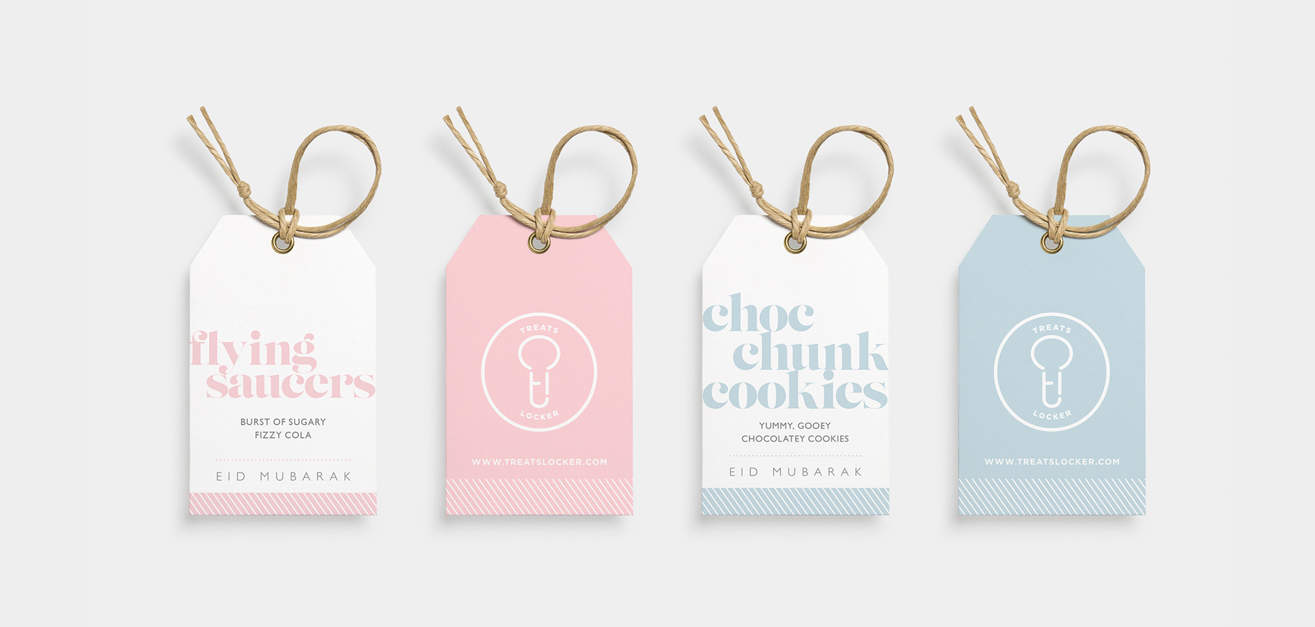 treats locker tags