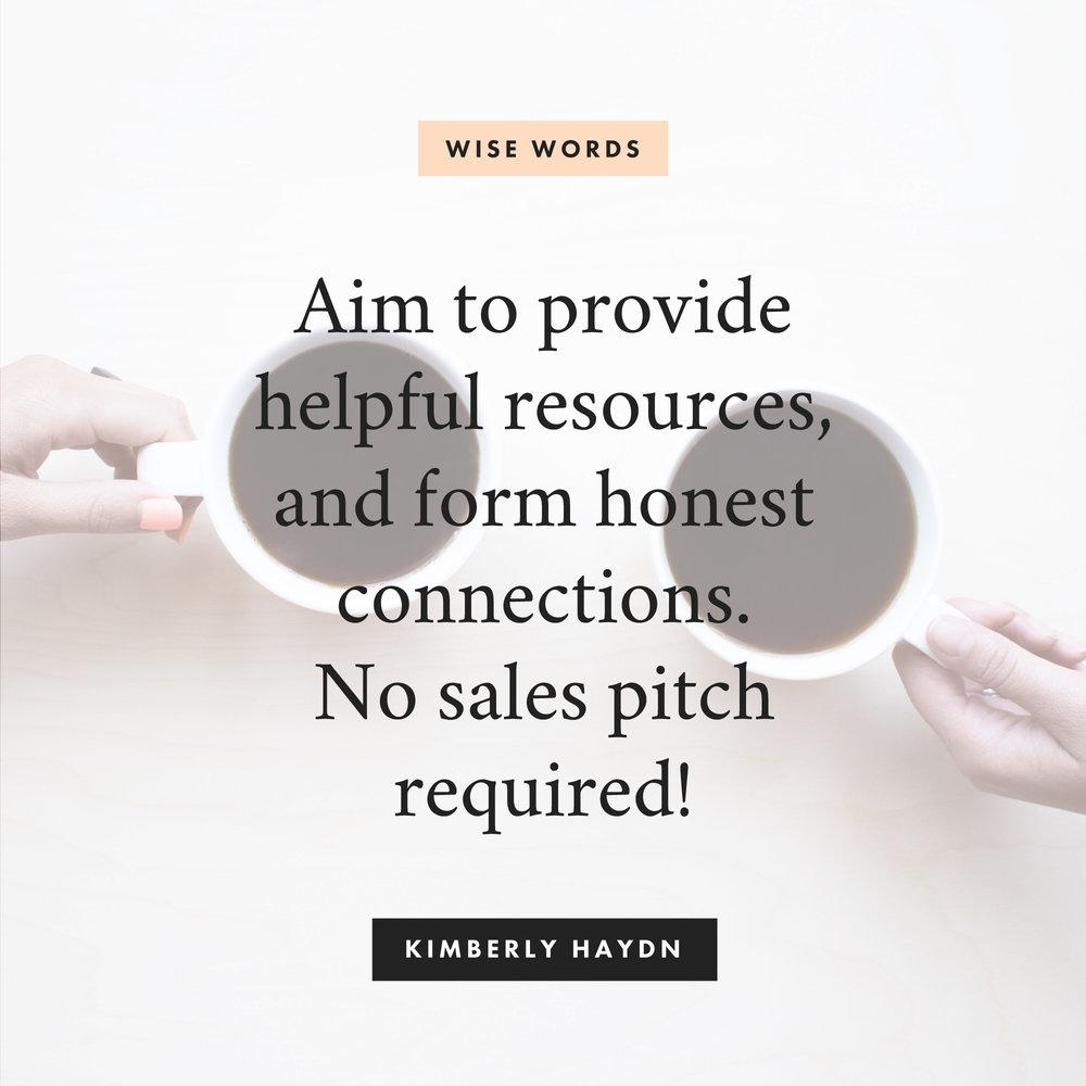 self-promo tips